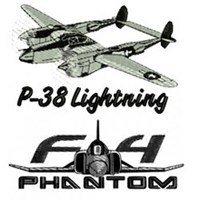 Military Aircraft Embroidery Designs