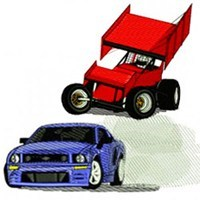 MotorSports Racing Embroidery Designs
