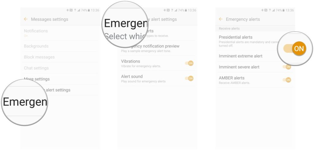 How to Turn Off Emergency Alerts on the Galaxy Note 8