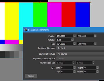 High performance real time video/audio capturing and mixing. Create scenes made up of multiple sources including window captures, images, text, browser windows, webcams, capture cards and more.