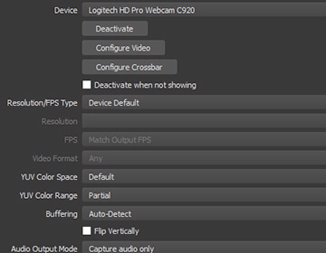 Powerful and easy to use configuration options. Add new Sources, duplicate existing ones, and adjust their properties effortlessly.