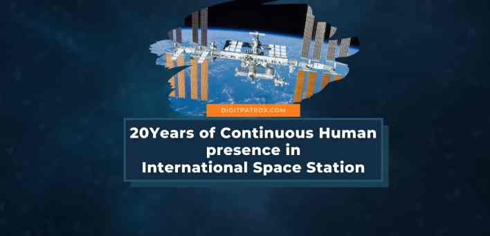 20Years of Continuous Human presence in Nasa's International Space Station digitpatrox