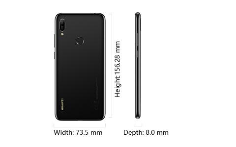 Huawei y6 Prime 2019 design digitrends africa