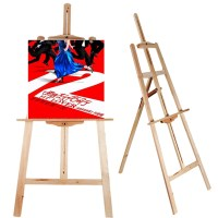 Portable Artist Wood Easel Art Painting Stand DrawingBoard ...
