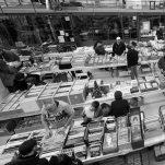 Salon Vinyls/CD/Livres/BD au Garage à Saint-Nazaire. Un événement de la association Digitus Impudicus.