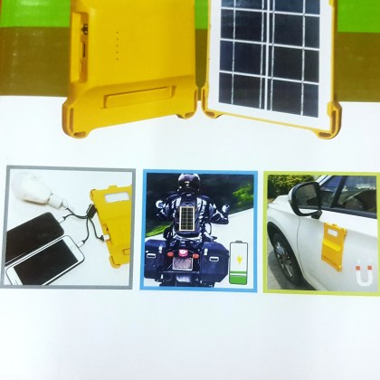 Power bank solaire