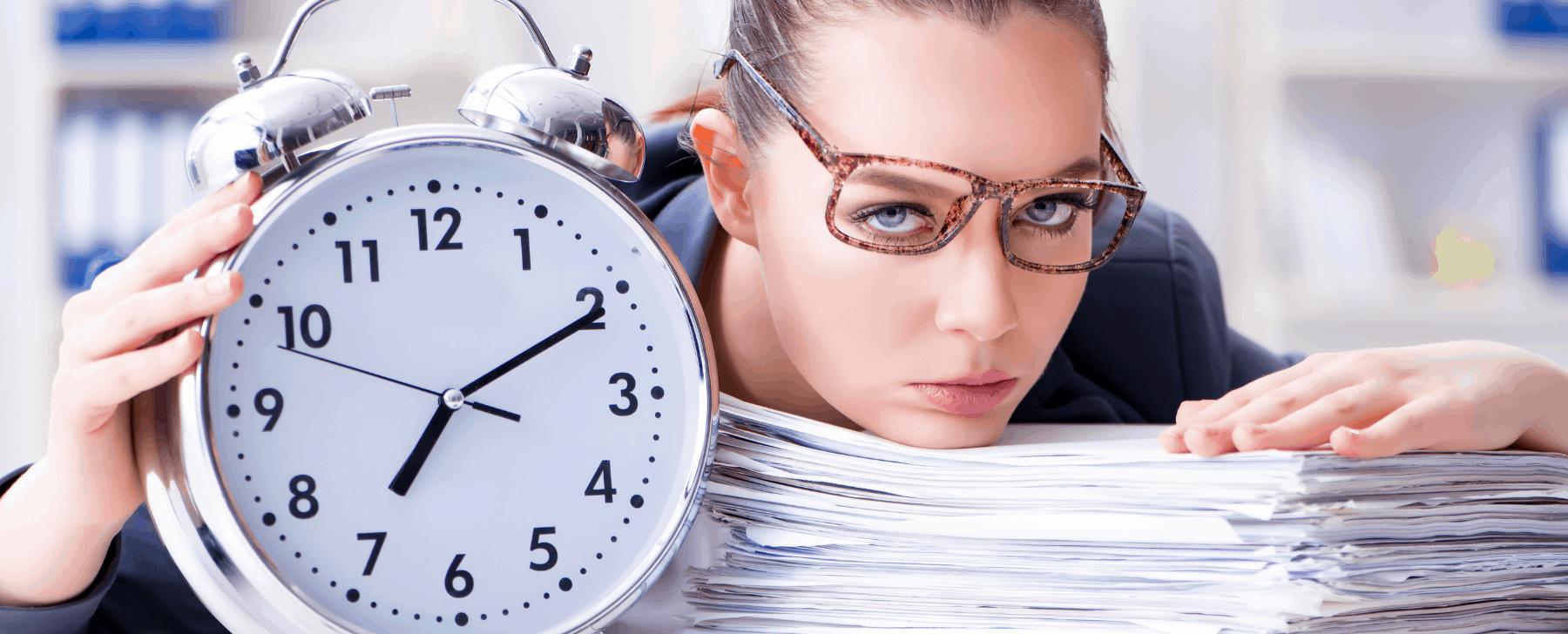 إدارة وقت الموظفين بكفاءة
