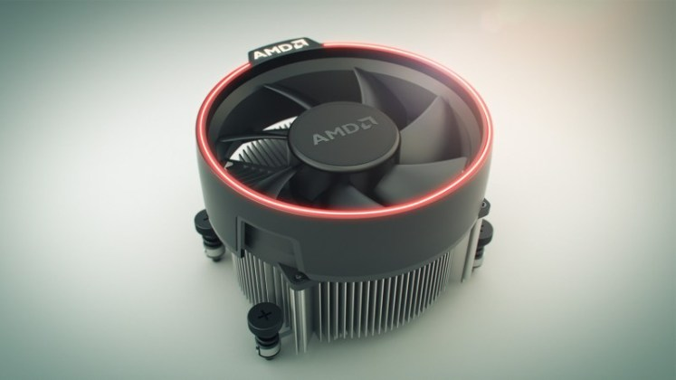 AMD Wraith Spire - Ryzen 7 Wraith Max demo