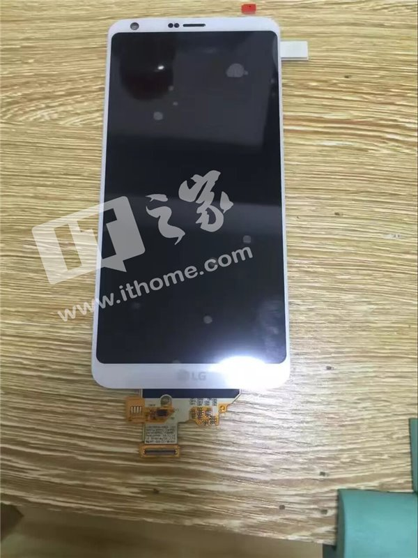 Fully assembled LG G6 front panel leaked