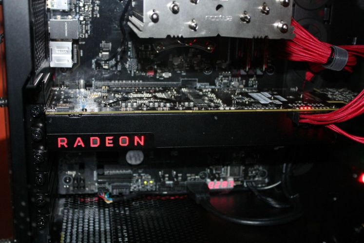 AMD Radeon RX Vega Pictured