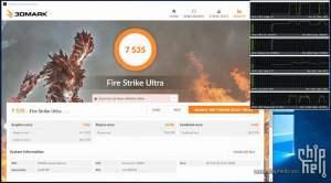 Nvidia GTX 1080 Ti 3DMark Benchmarks - Fire Strike P OC