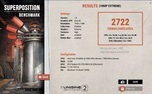 AMD Radeon RX 580 benchmarks - Unigine Superposition