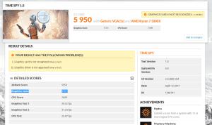 AMD Vega benchmark - TimeSpy 3DMark