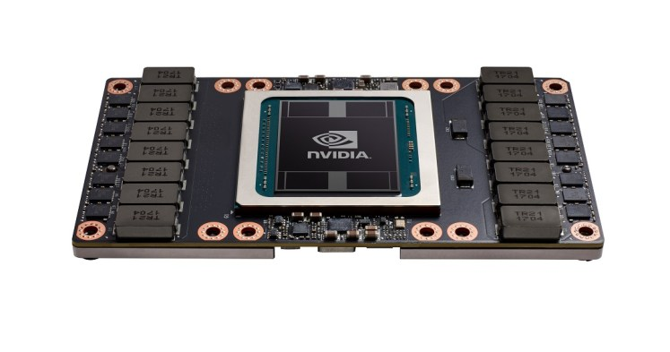 Nvidia Volta Tesla V100 GPU