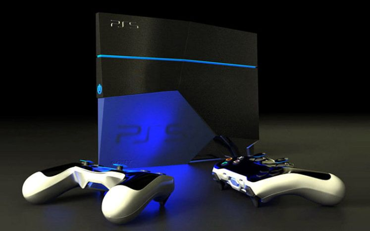 Sony PS5 concept image - No PS4 Pro exclusives to ever happen
