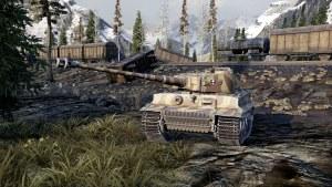 World of Tanks 4K screenshots - Xbox One X version