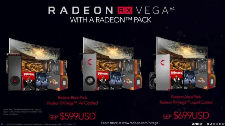AMD Radeon RX Vega 64 Black Pack