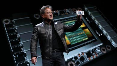 Nvidia CEO on the launch of Volta gaming GPUs