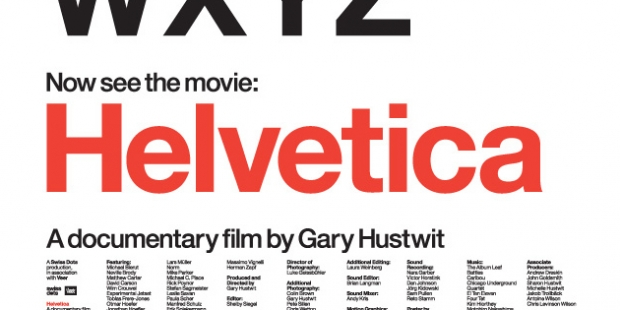 Helvetica: A documentary by Gary Hustwit