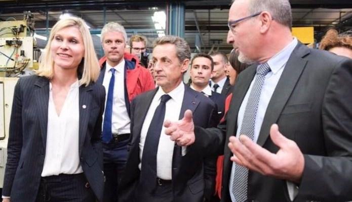 Nicolas Sarkozy en 2016