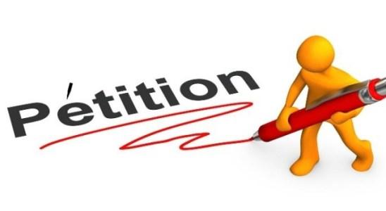La pétition est disponible sur le site change.org.