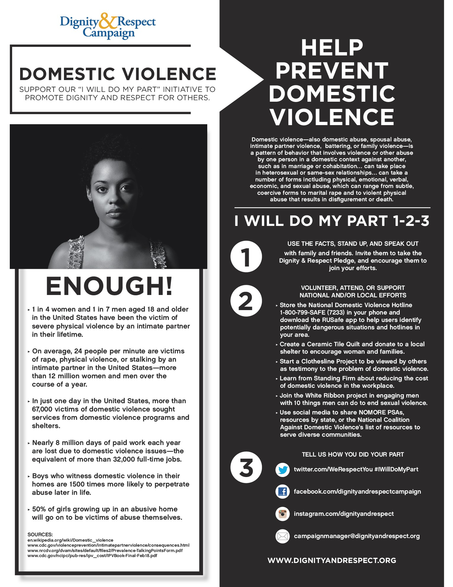 Do Your Part Domestic Violence Awareness