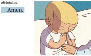 Billedet er fra Kristi Dagblads prisvindende artikel om Fadervor