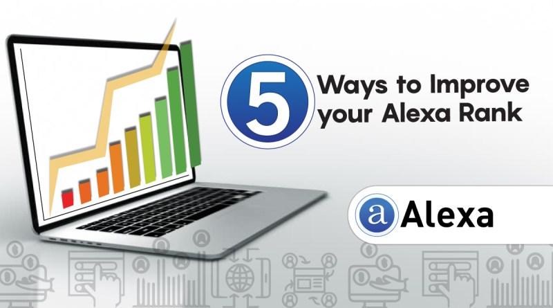 5 ways to improve your alexa rank