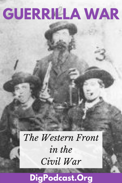 The Guerrilla War on the western front of the American Civil War. Learn about Bloody Bill Anderson, Billy the Kid and others and how they were Civil War veterans turned rogue. #civilwar #guerrillawarfare #history #AmericanCivilWar #CivilWar
