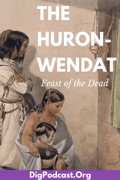 Huron-Wendat Feast of the Dead: Death, Religion, and Euro-Native Encounters #nativeamericans #history #huron #wendat