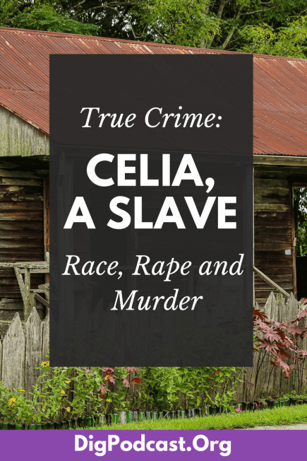 This is the case of Celia, an enslaved woman in 1850s America, and based on the work ofhistorian Melton McLaurin. Today, we're talking about a very real murder that was committed by a very real woman who lived in Missouri in the 1850s. But while this murder had all the elements that make for a flashy true crime