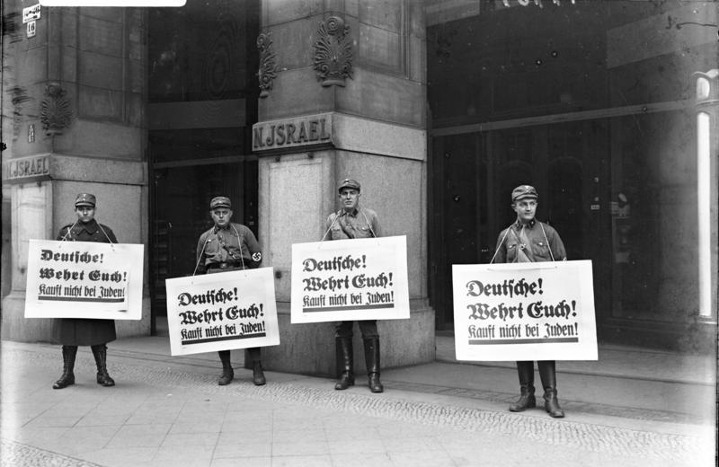 Gradations of Hate: Nazi Discrimination against Jewish Germans and The Nuremberg Laws