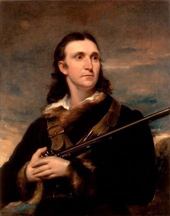 A painting of a young John James Audubon