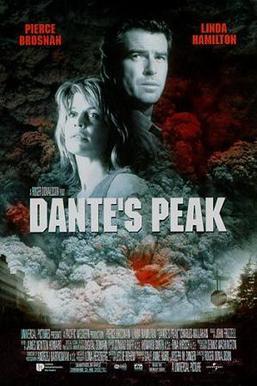 a movie poster for Dante's Peak