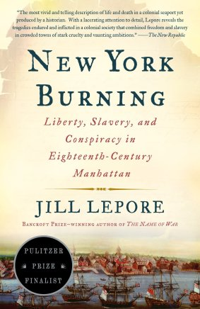The cover of New York Burning by Jill Lepore