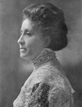 Black and white image of Mary Church Terrell