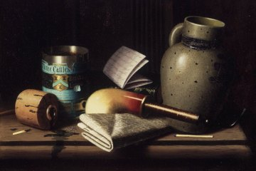 Still Life with Three Castles Tobacco, William Michael Harnett