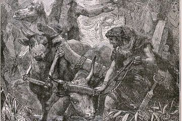 """""""The Wandering of the Aryans,"""" from The illustrated history of the world for the English people"""