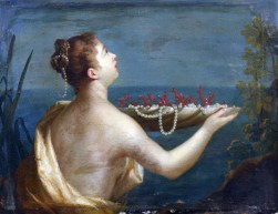 Jean Raoux, Naïade au plateau de perles et de coraux