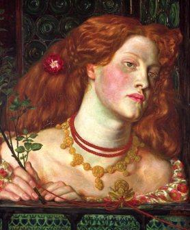 Dante Gabriel Rossetti, Fair Rosamund (1861)