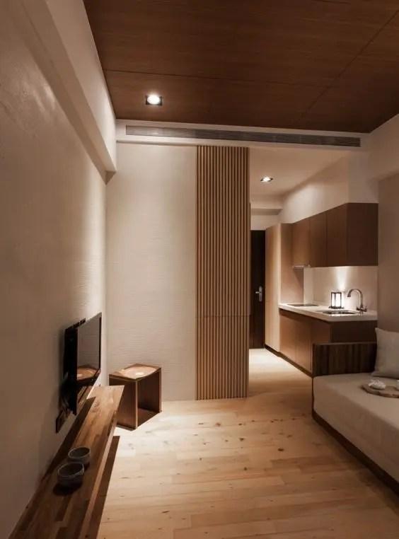 Modern Japanese Bedroom : modern, japanese, bedroom, Serene, Japanese, Living, Décor, Ideas, DigsDigs