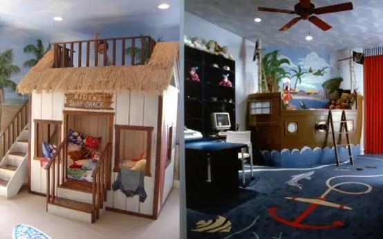 27 Cool Kids Bedroom Theme Ideas