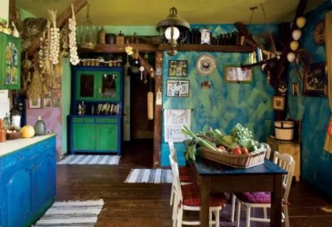 fairy tale furniture colorful rustic gingerbread cozy decorating designs interior fairytale room cottage living retirement kitchen digsdigs homedit decoration bohemian