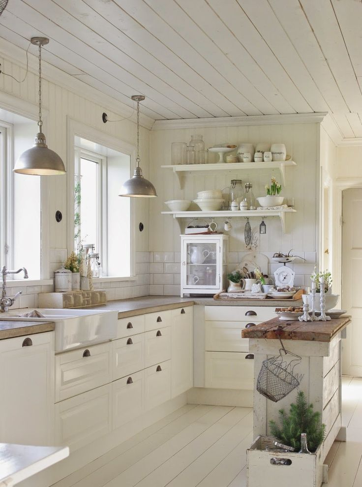 31 Cozy And Chic Farmhouse Kitchen Décor Ideas  Digsdigs