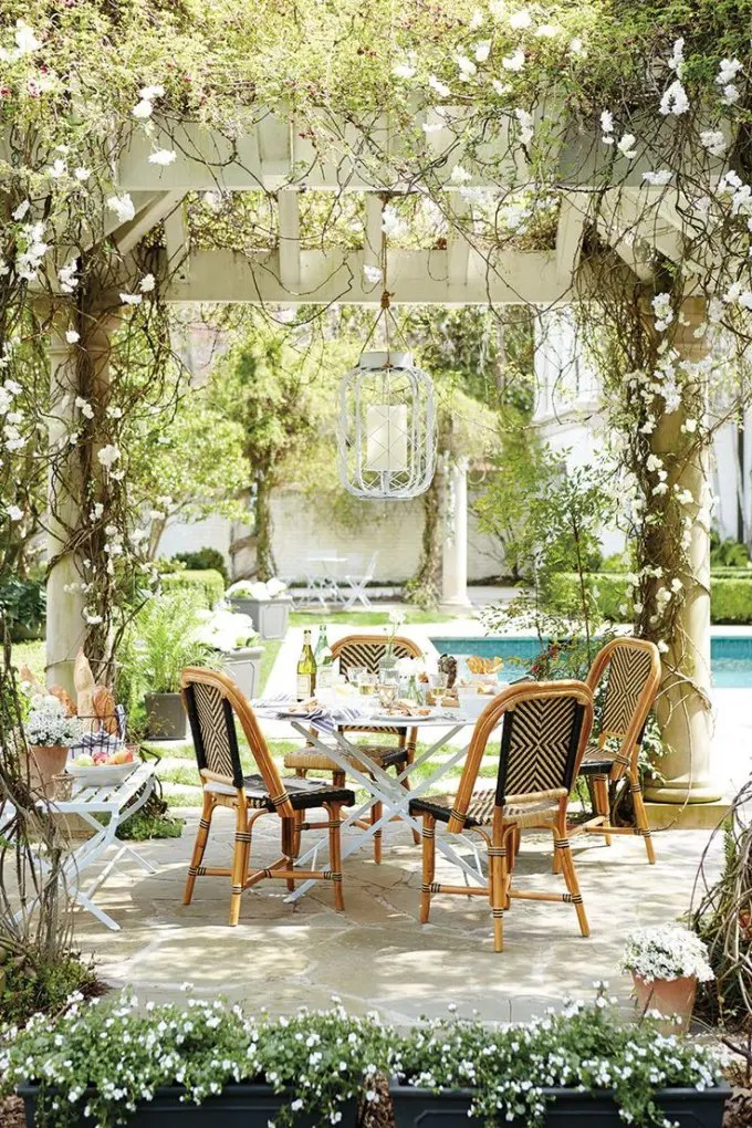 34 Inviting Outdoor Dining Spaces In Various Styles  Digsdigs