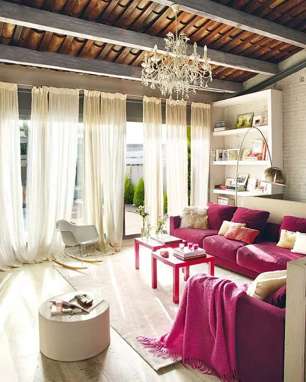 Pink Interior Design Modern And Vintage Interior Design In Shades Of Pink