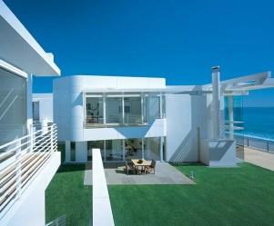 beach modern exterior paint richard meier houses luxury california south mansion homes mansions exteriors front beachfront southern interior outside outdoor