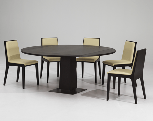 Modern Dining Table With Extension Modern Expandable Dining Table With Wooden Finish - Petite