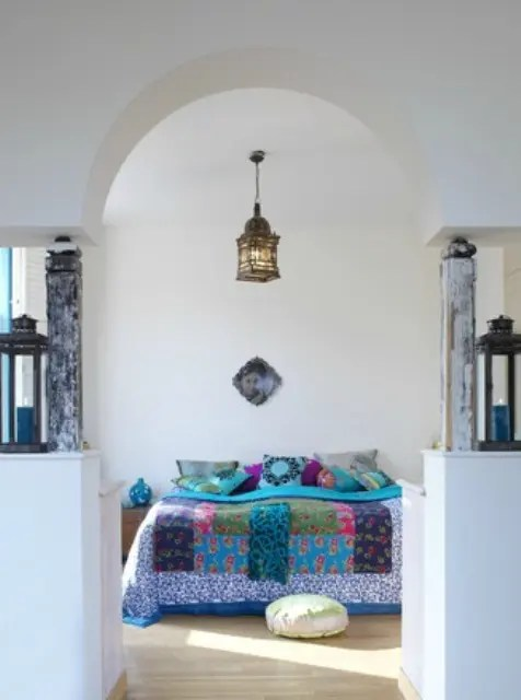 Dining Room Table Decoration 66 Mysterious Moroccan Bedroom Designs - Digsdigs