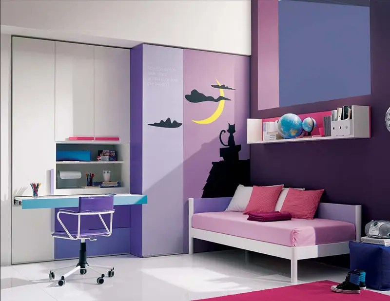 13 Cool Teenage Girls Bedroom Ideas
